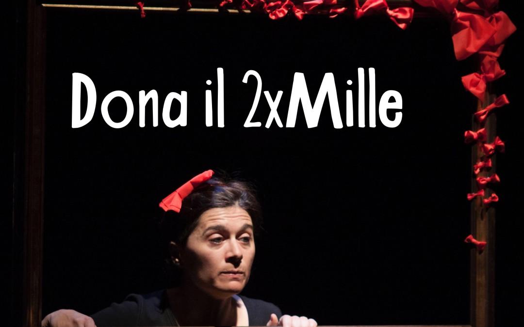 Dona il 2×1000 a Onda Teatro